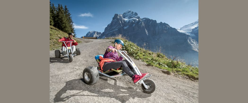 Mountain Cart Grindelwald First
