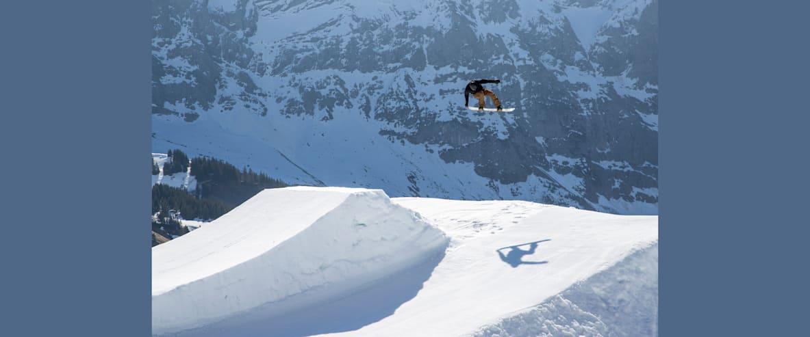 Michael Scharer Snowpark Grindelwald First 2
