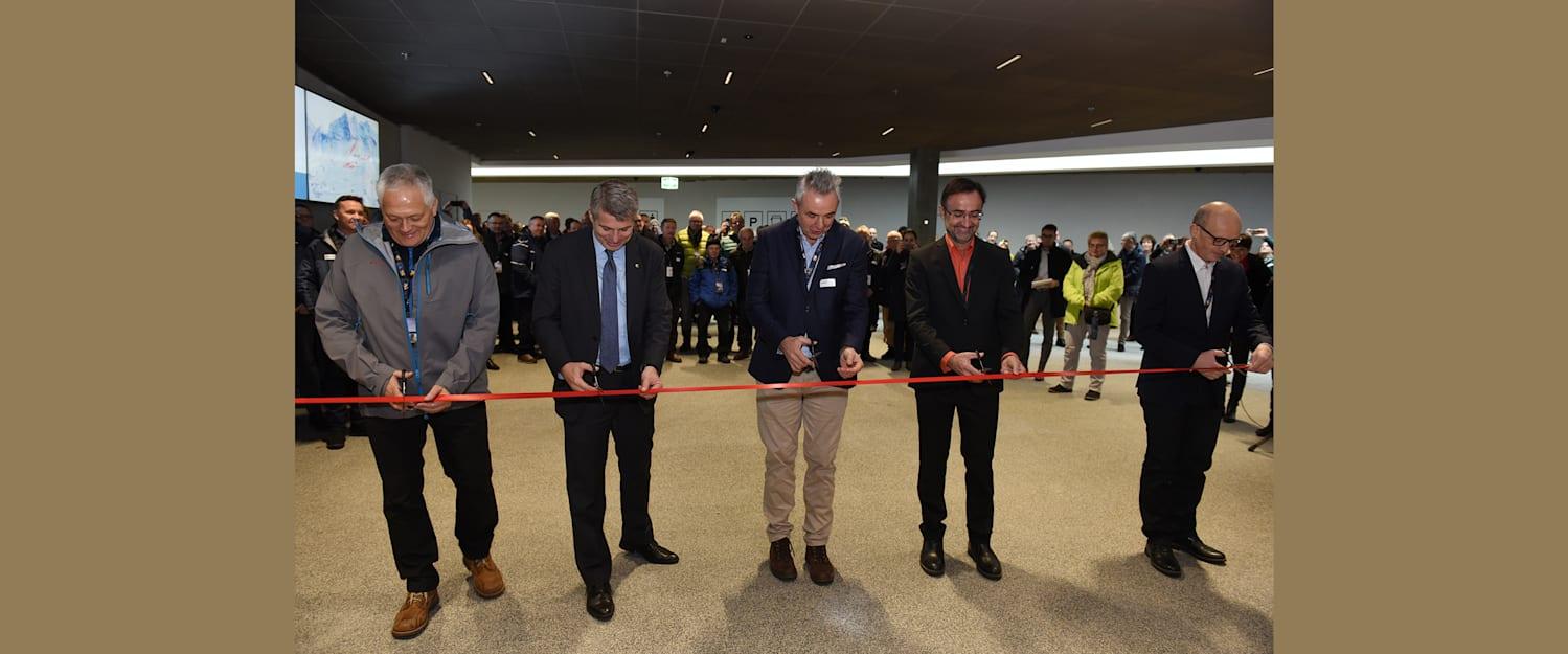 V Bahn Offizieller Eroeffnungsakt im Grindelwald Terminal 2