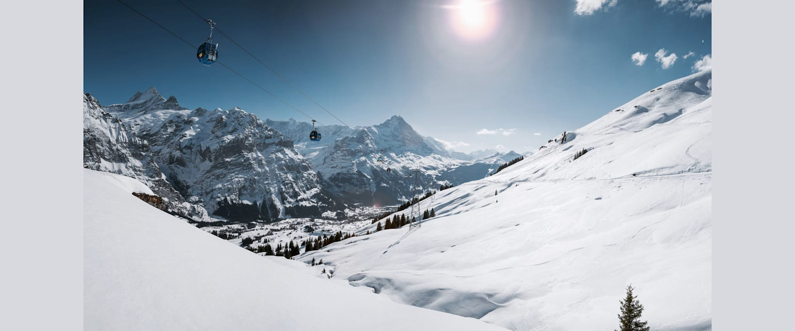 Grindelwald firstbahn eiger