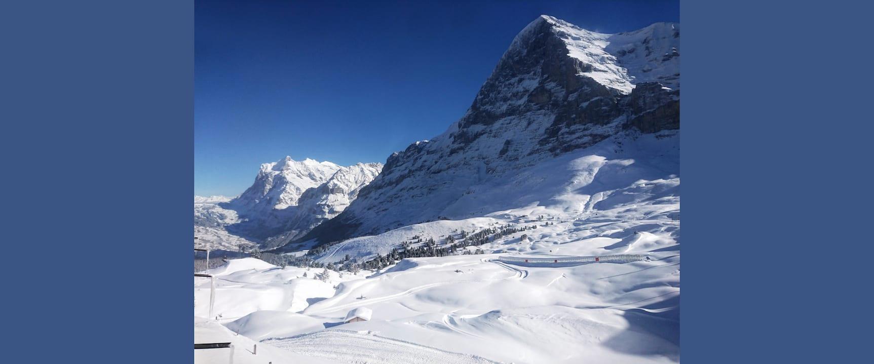 Winterbild Kleine Scheidegg