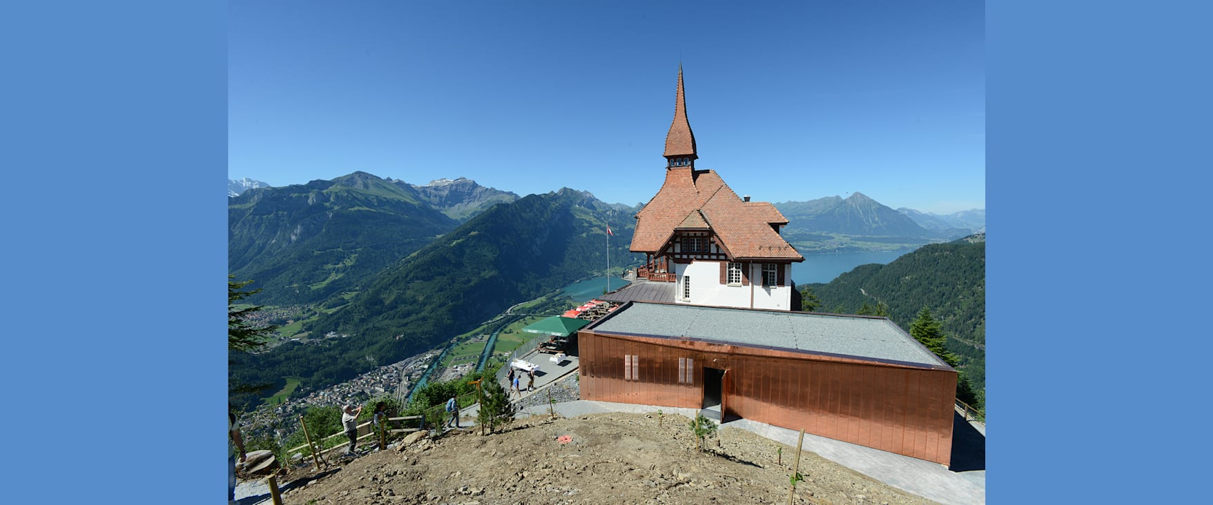 Harder Kulm Richtung Thunersee