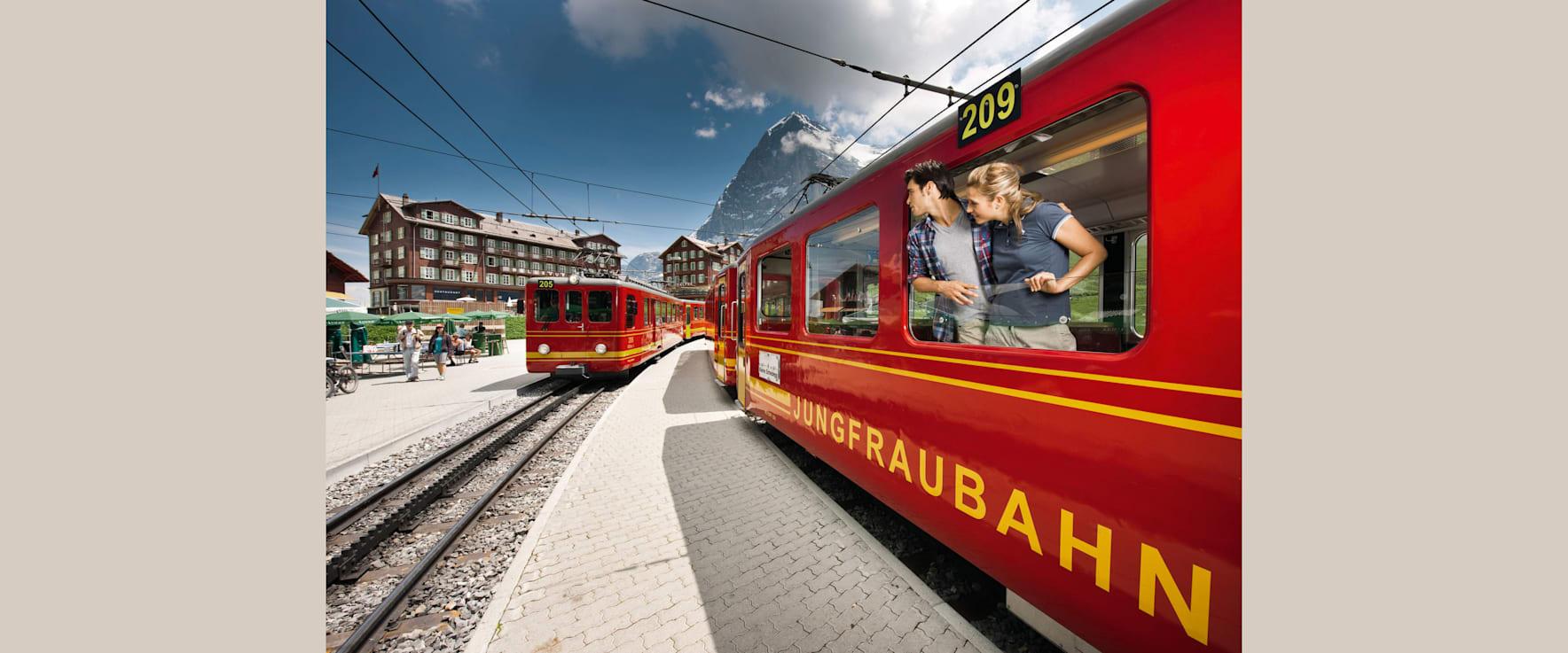 Jungfraubahn kleine scheidegg sommer 01