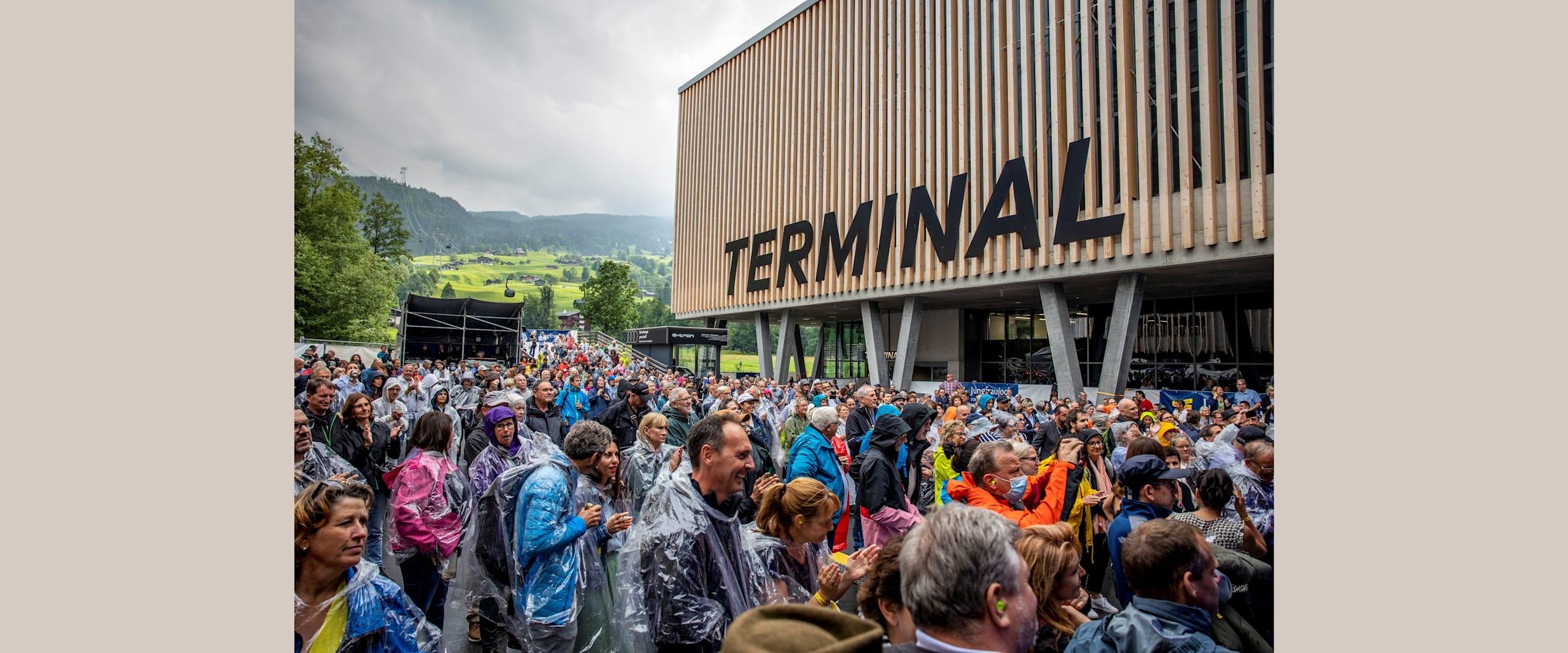 Zucchero Grindelwald Terminal Eiger Express