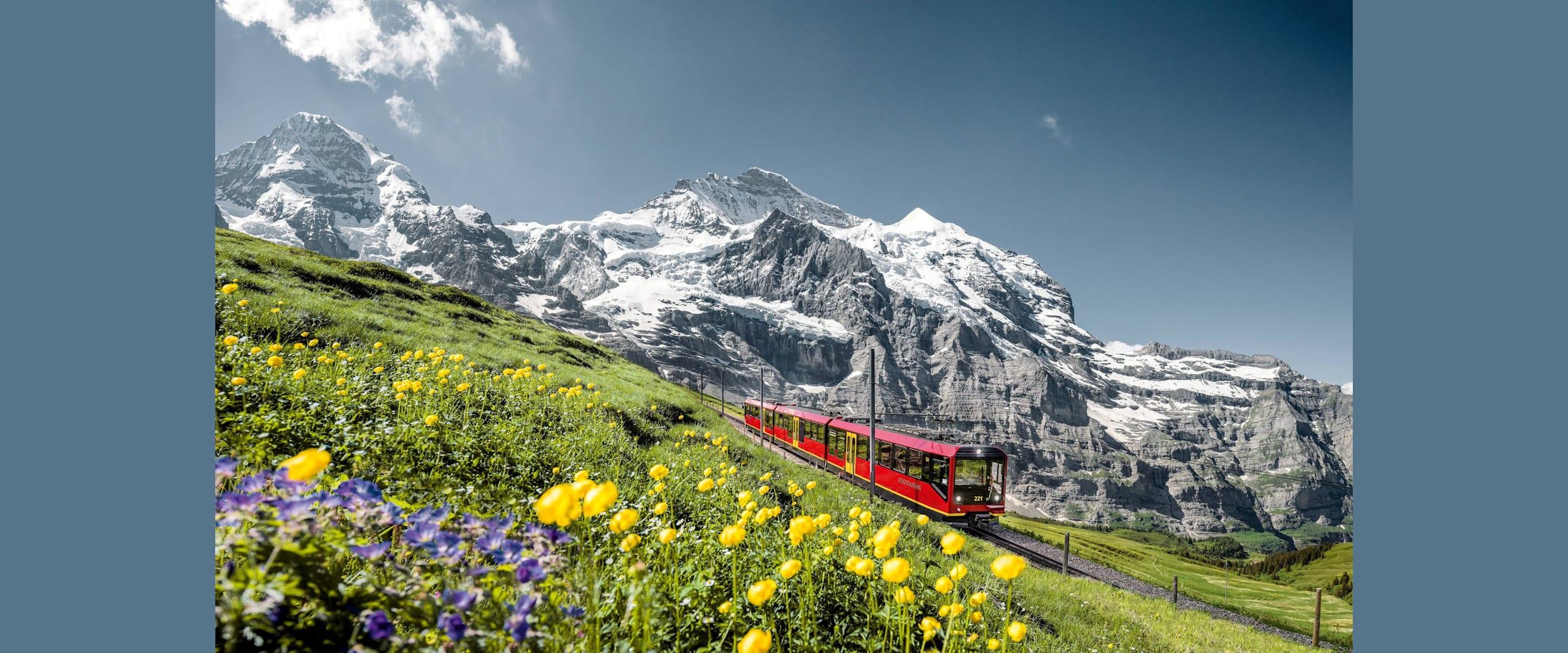 Jungfraubahn eiger moench jungfrau klein