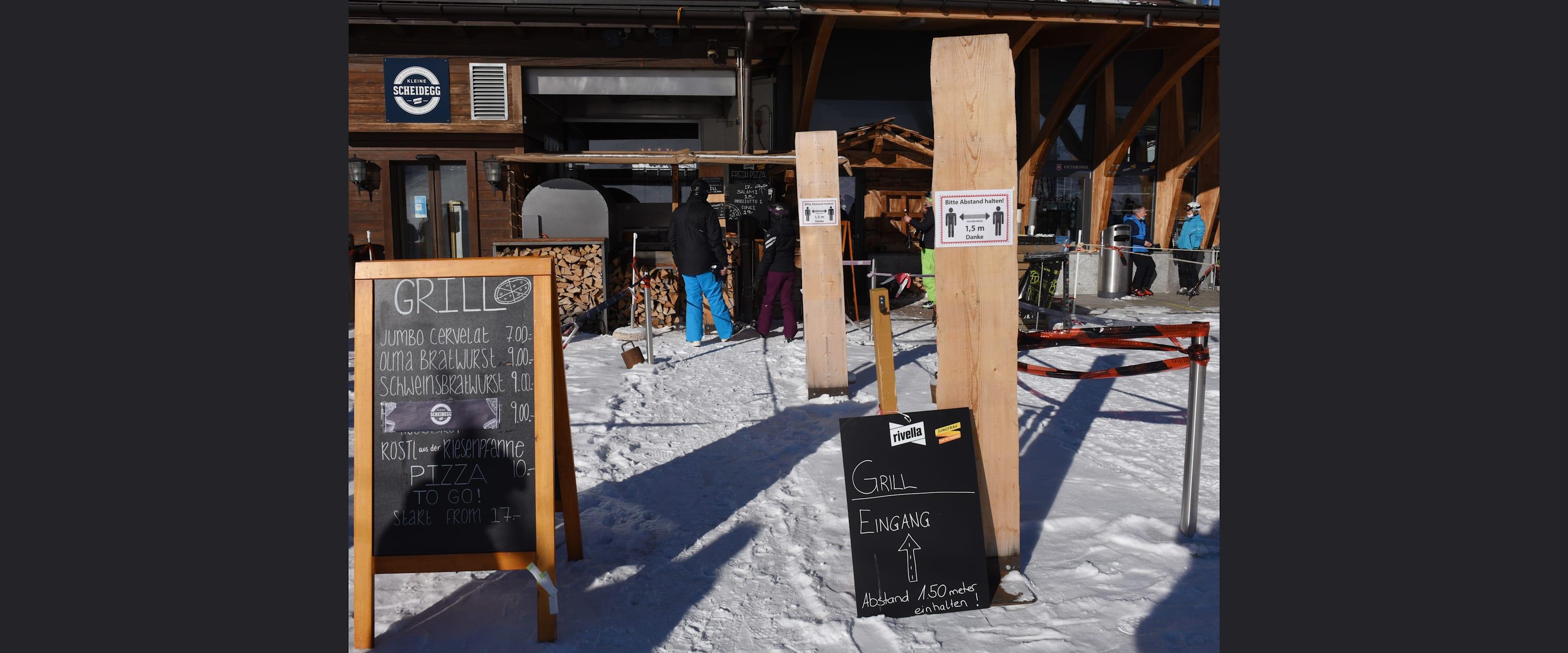 Kleine Scheidegg Take away 2