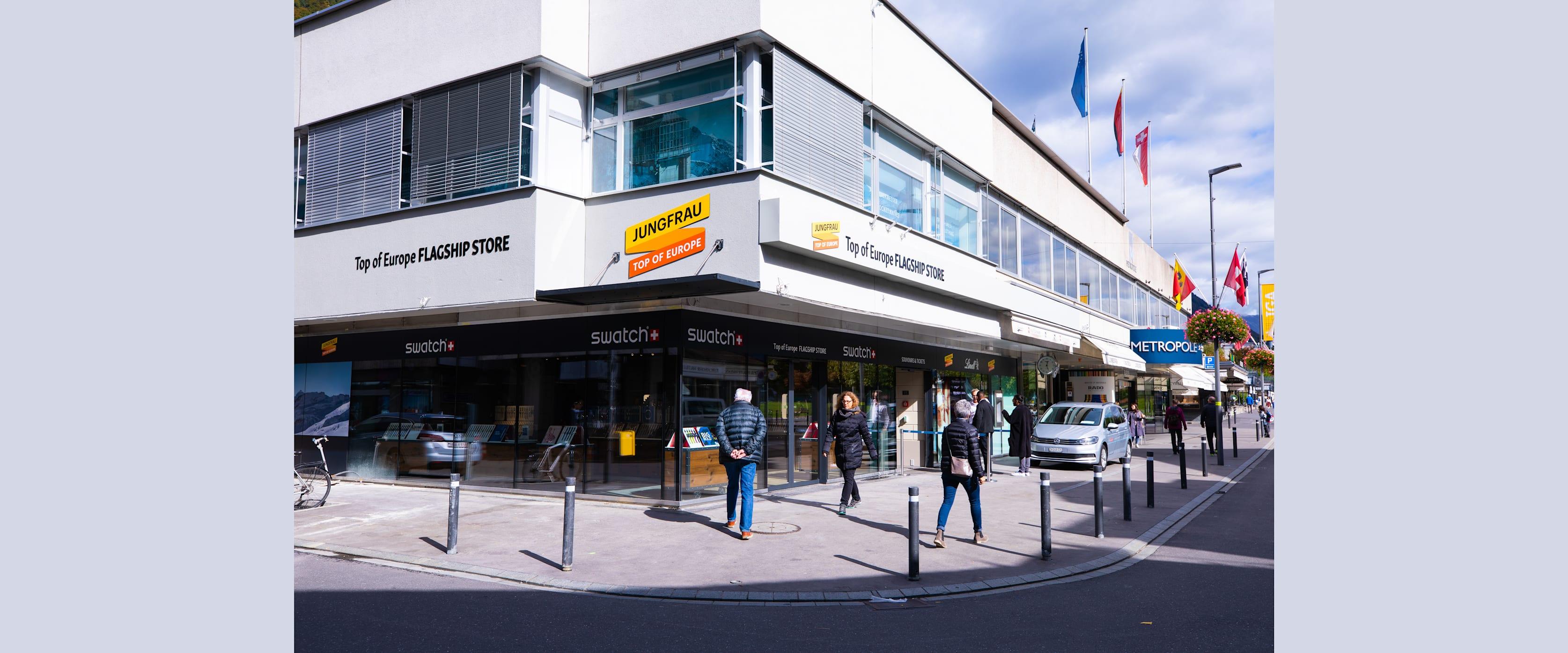 Erlebnisse-Aktivitaeten, Top of Europe Flagship Store
