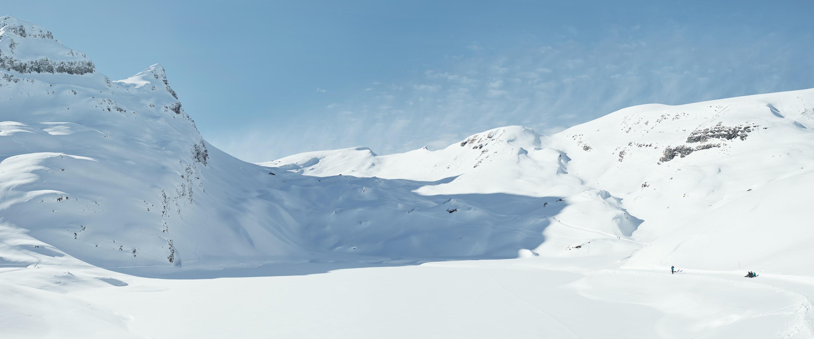 Wandern Winter Bachalpsee Faulhorn
