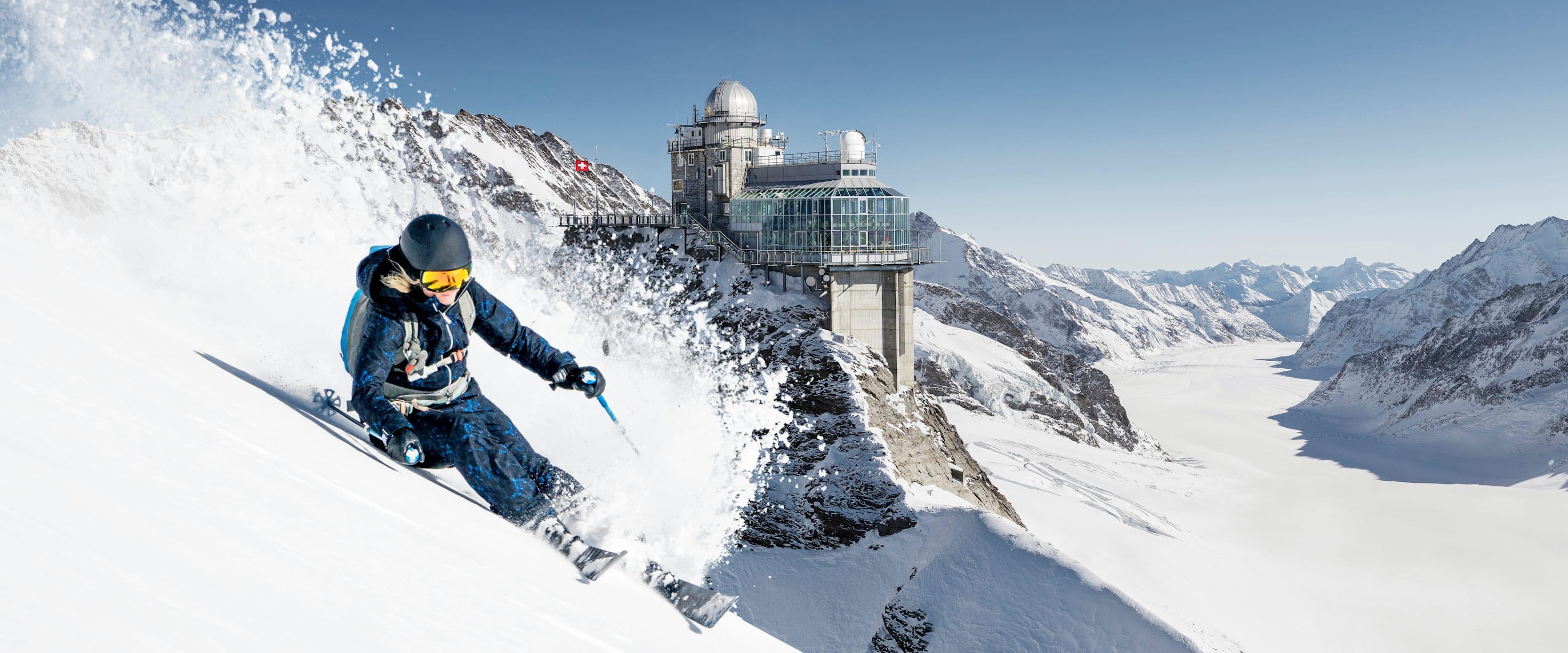 Jungfraujoch– Top of Europe ski pass