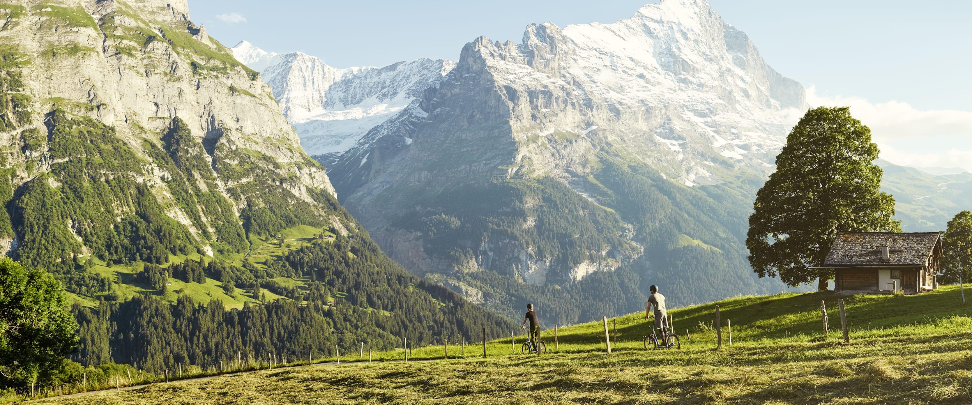 Trottibike Grindelwald First Eigernordwand