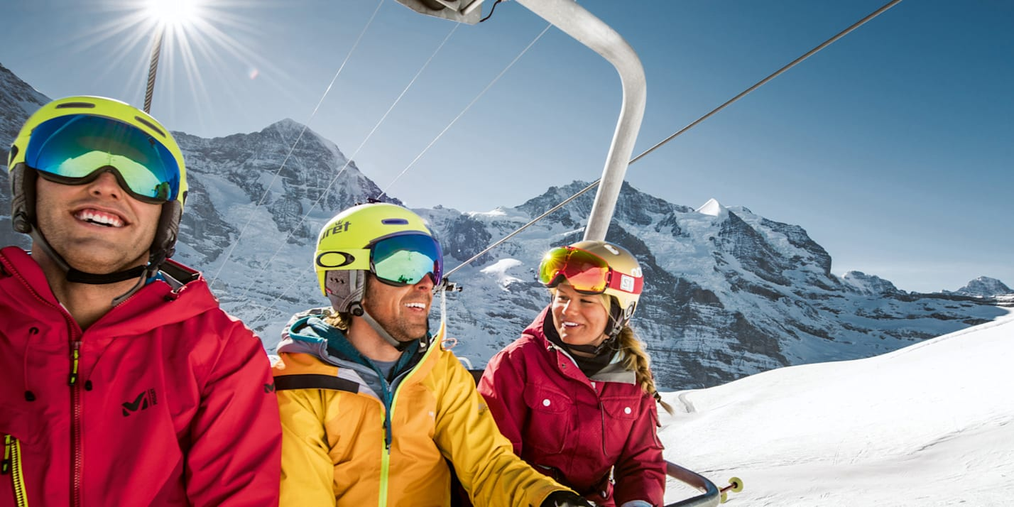 Earlybird skipass Jungfrau Grindelwald Wengen