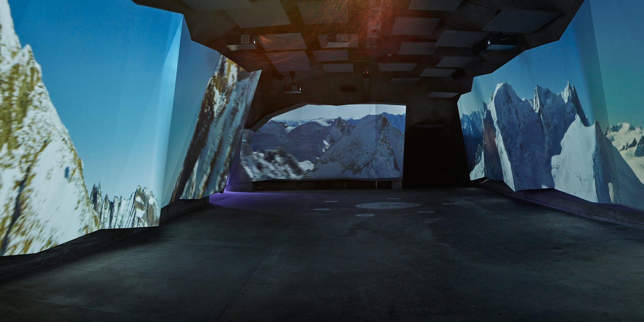 Jungfraujoch Jungfrau Panorama Kino