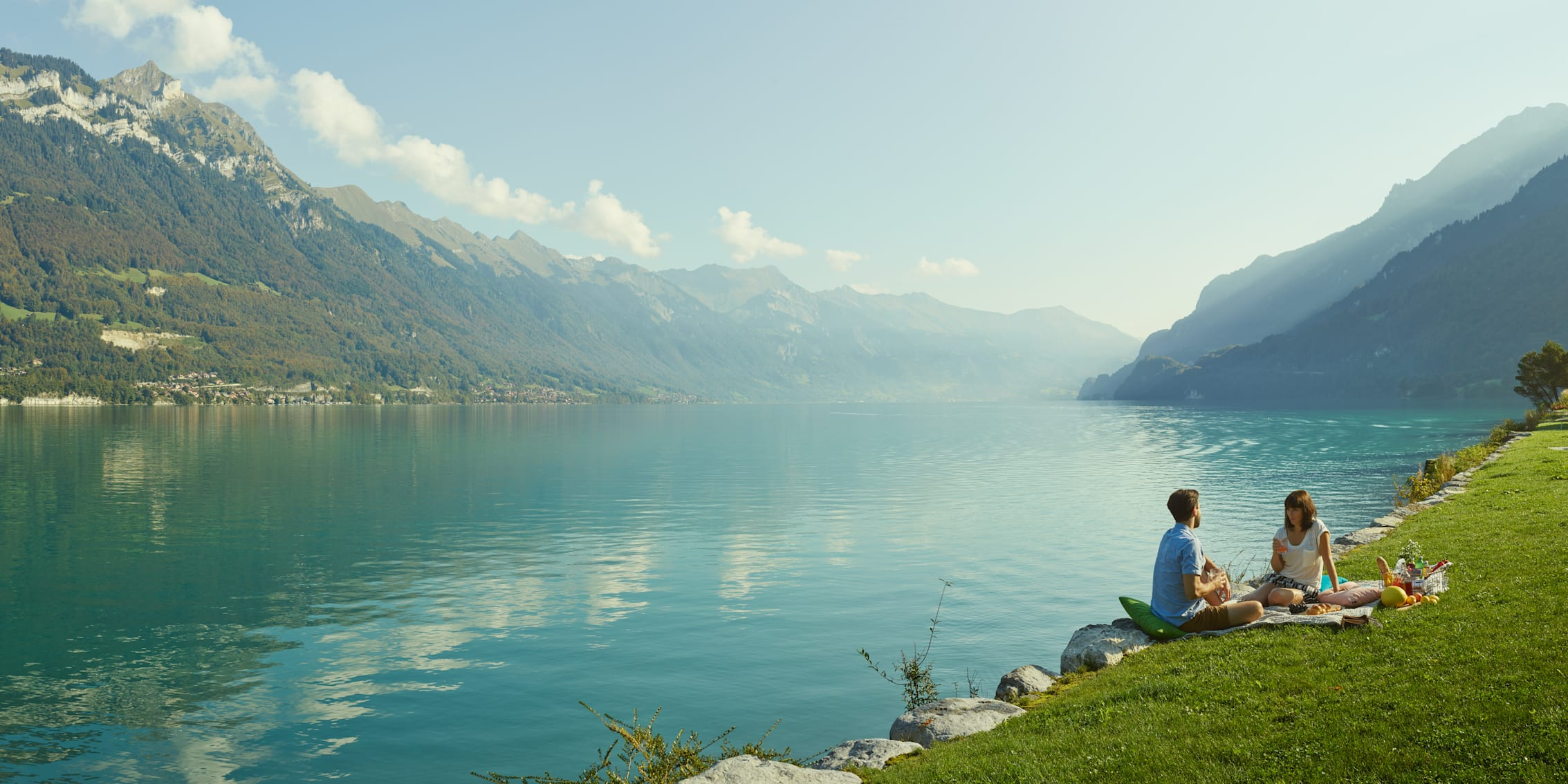 Thunersee Picknick Seeufer Sommer