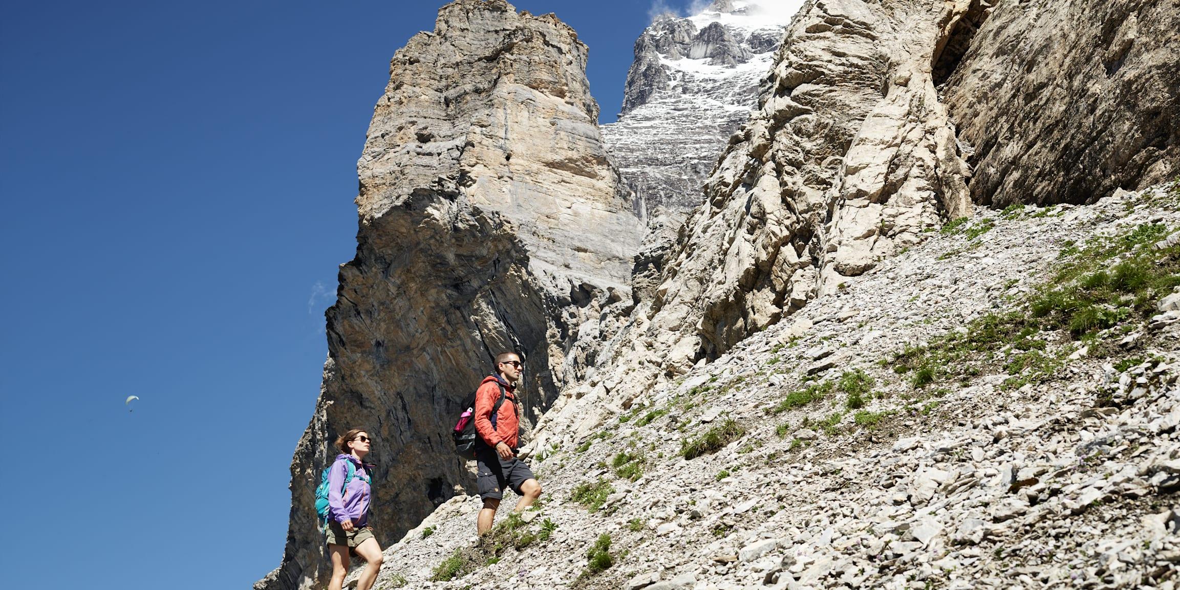 Wandern Gebirge Sommer