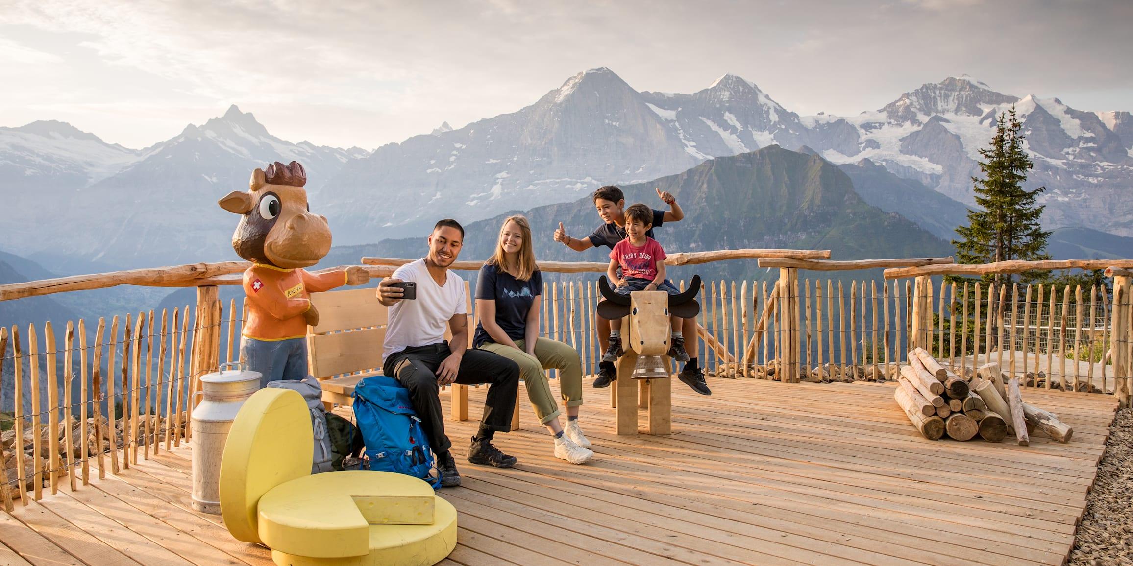 Berge, Eiger, Eiger-Mönch-Jungfrau, Jungfrau, Mönch, Publikationen, Schynige-Platte, Screen-Content, jungfrau.ch
