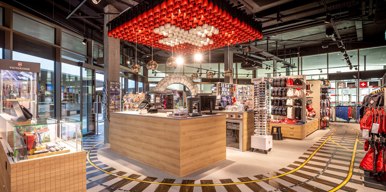 Grindelwald Terminal Top of Europe Shop Weitansicht