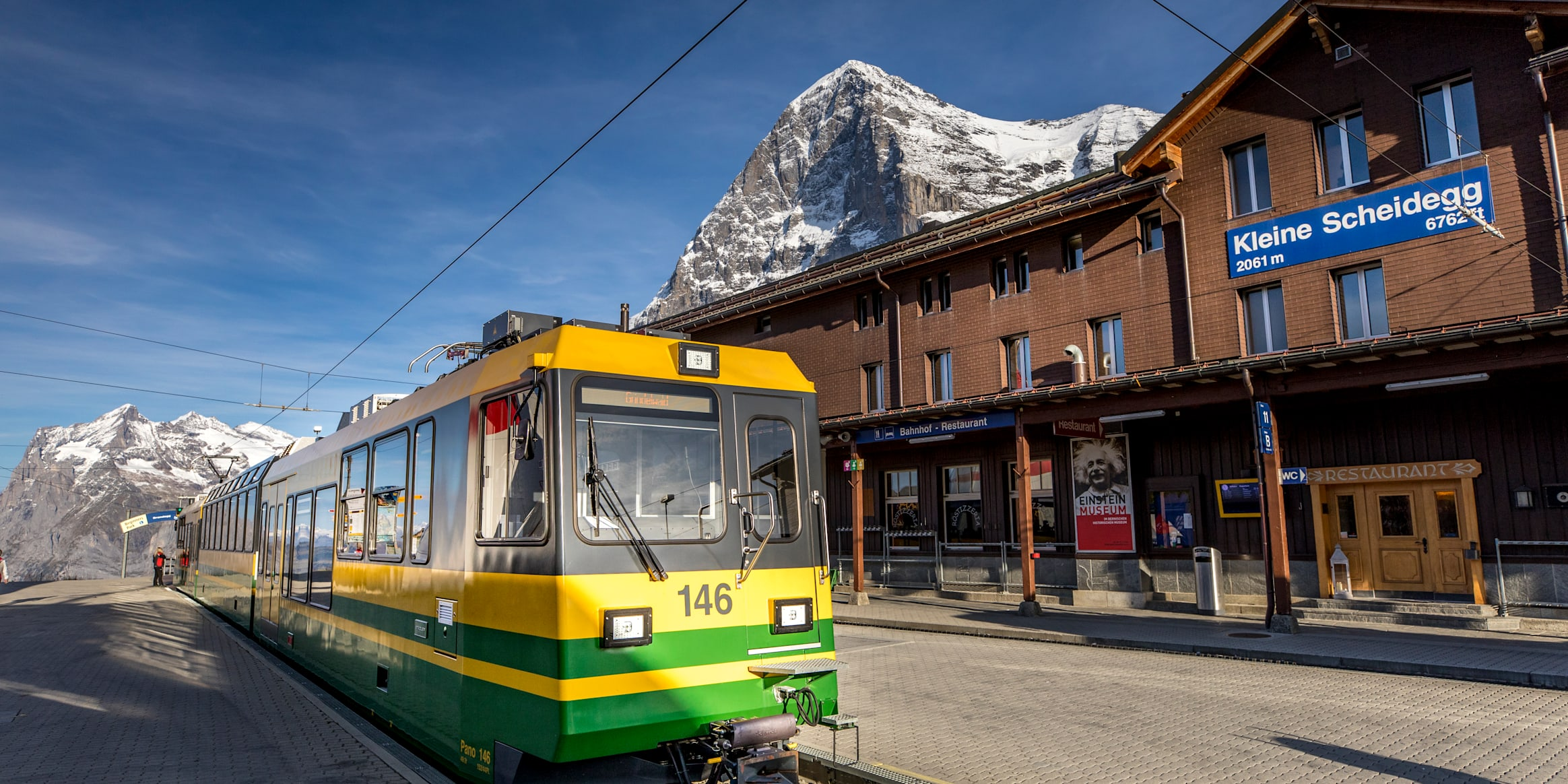 Bahnhof Kleine Scheidegg Winter