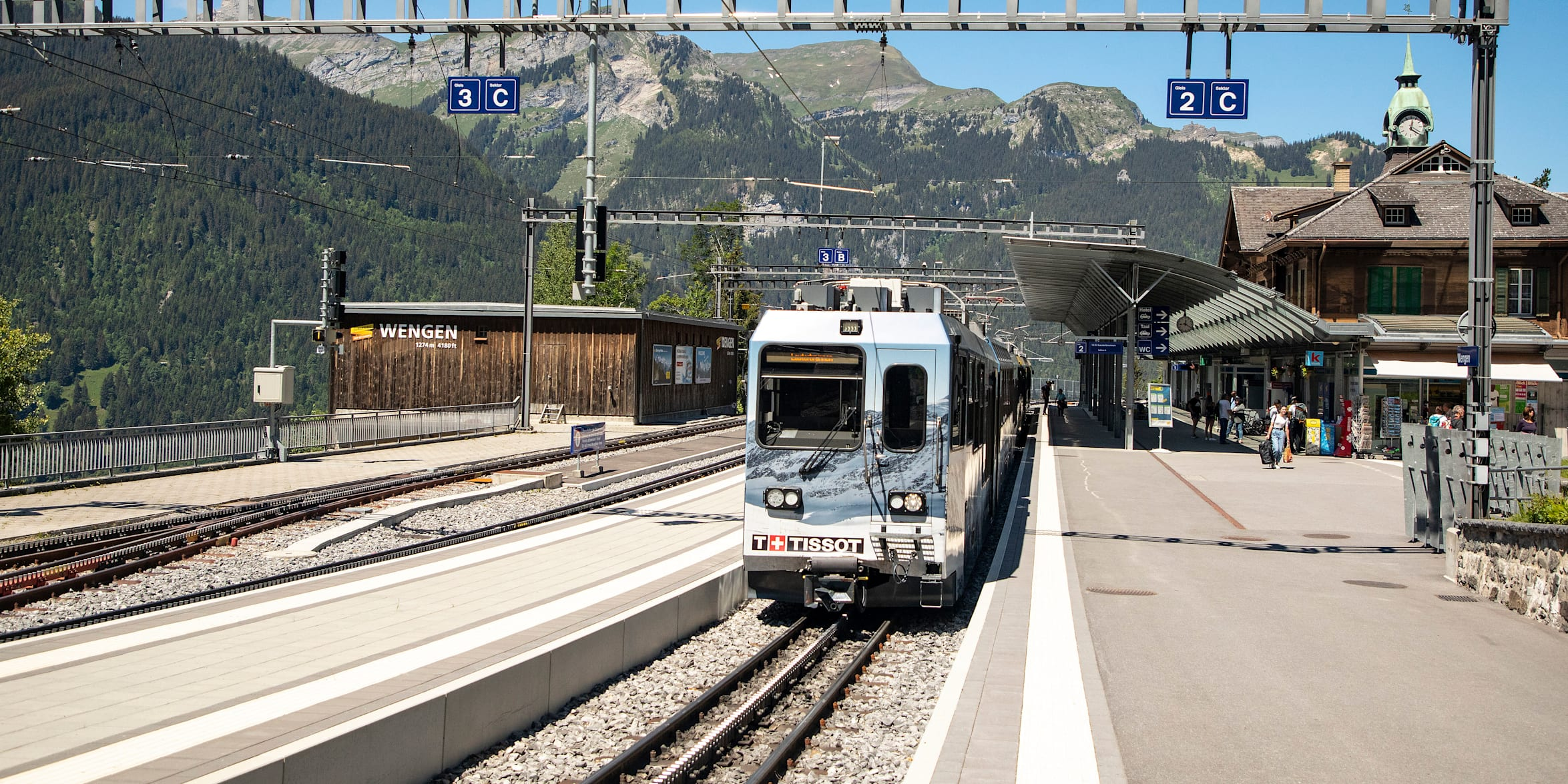 Bahnhof Wengen NEU