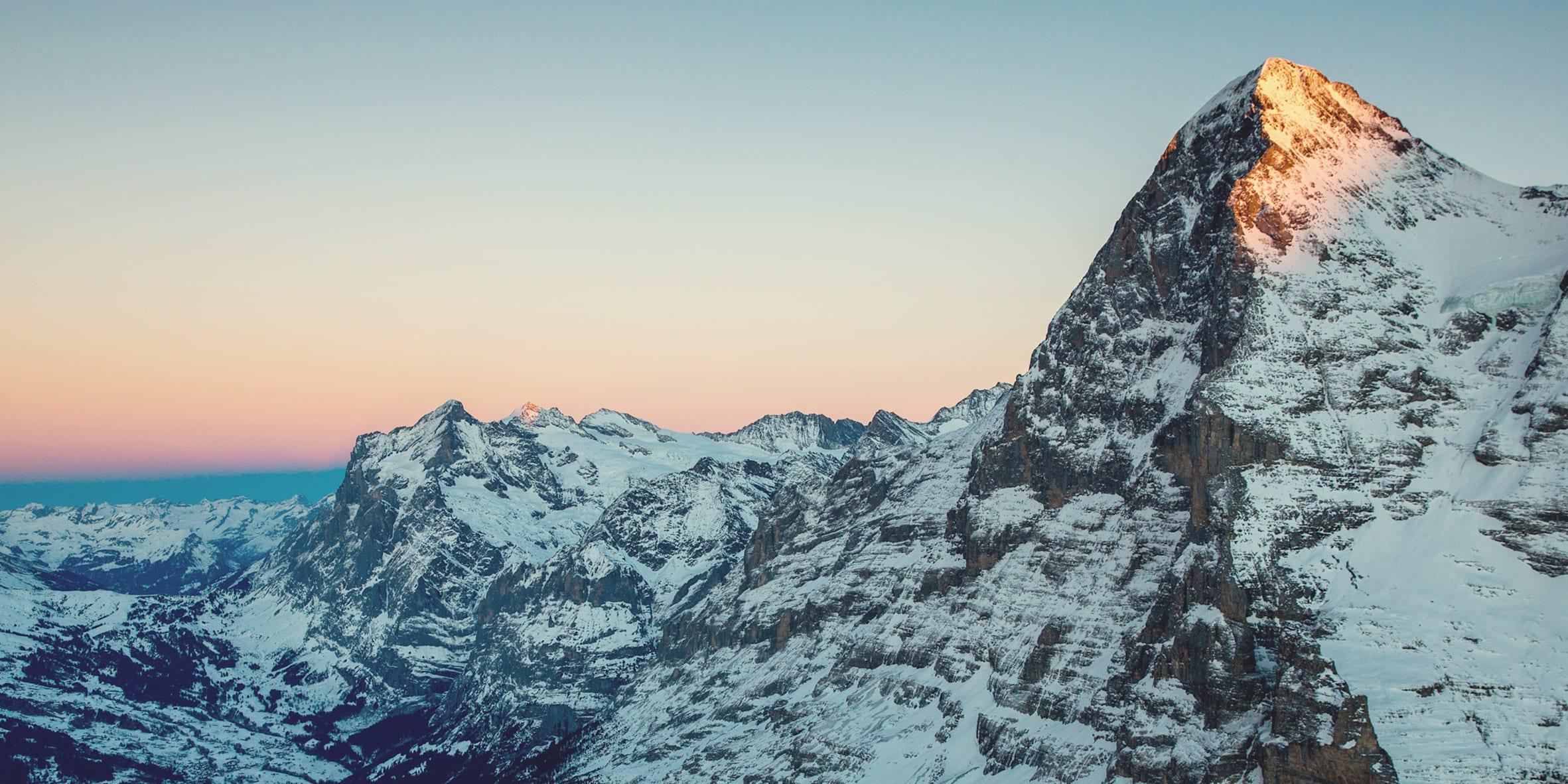 Eiger Grindelwald Winter