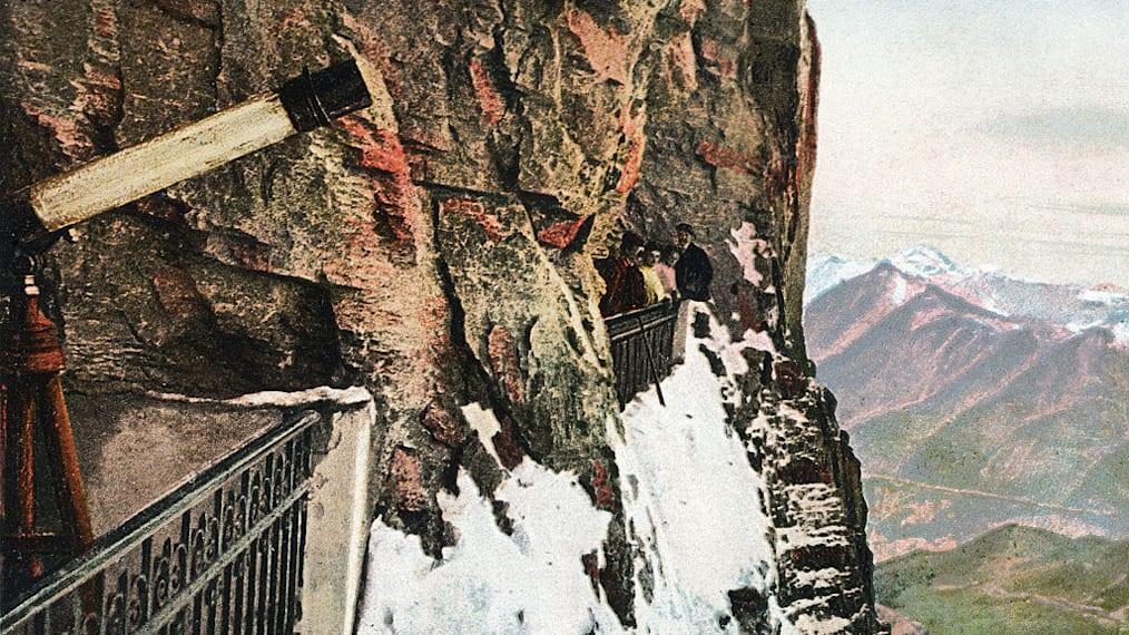 Galerie blick auf kleine scheidegg jungfraujoch top of europe nostalgie