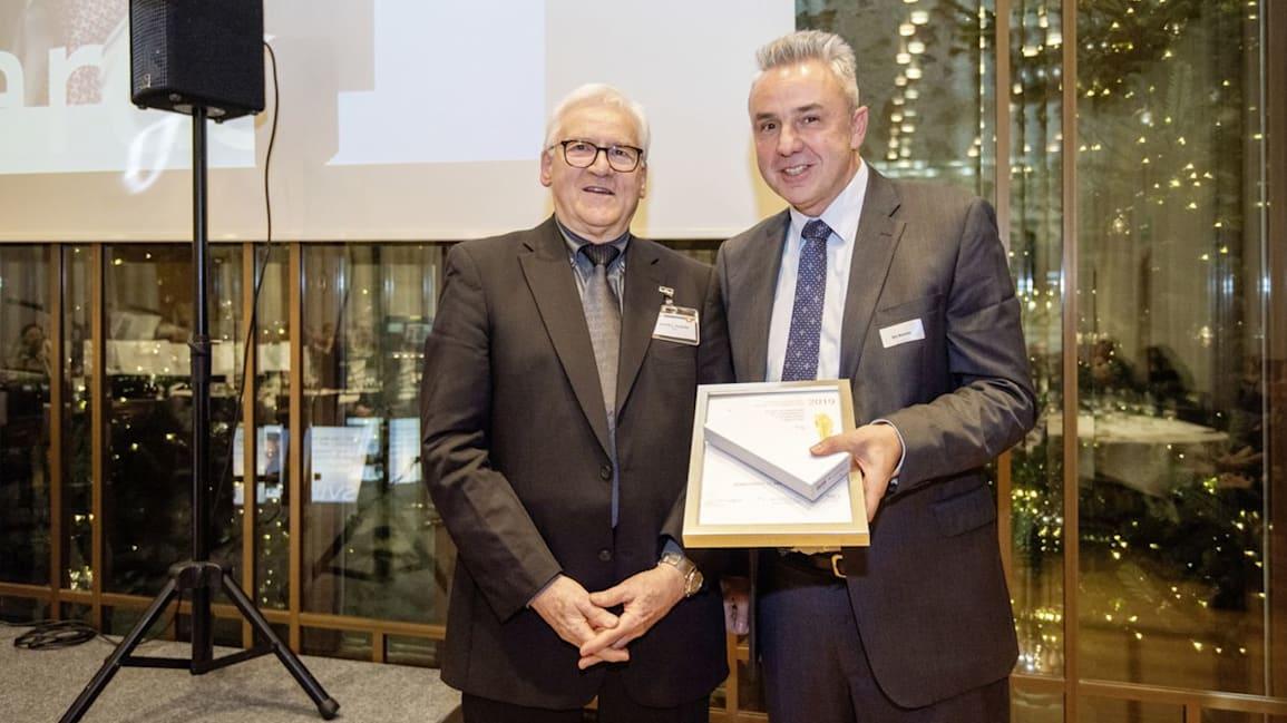 Verleihung SVIK 19 Daniel L Ambühl und Urs Kessler