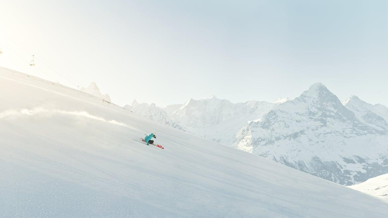 Skifahren Grindelwald First