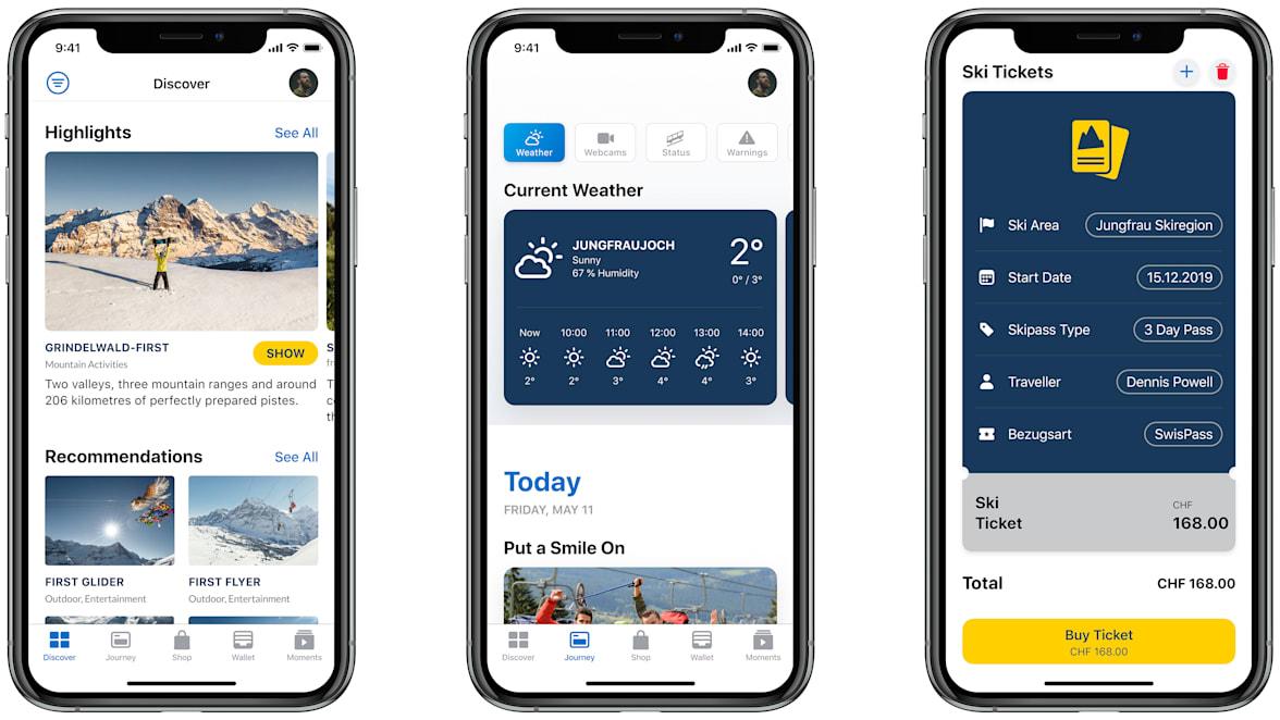 Jungfrau App Preview