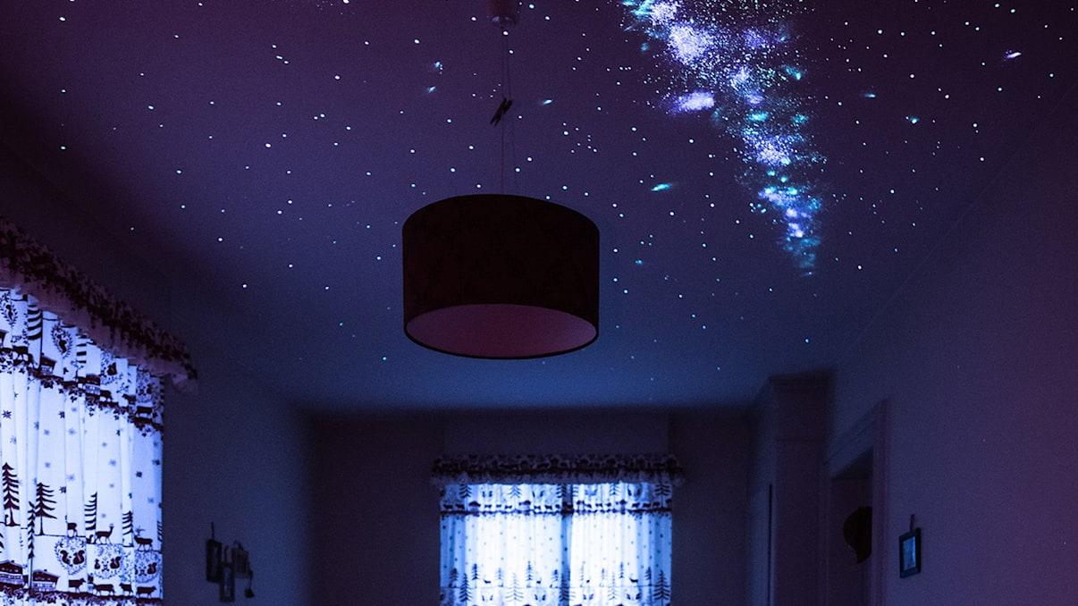 Zimmer mit Starseed Sternenhimmel