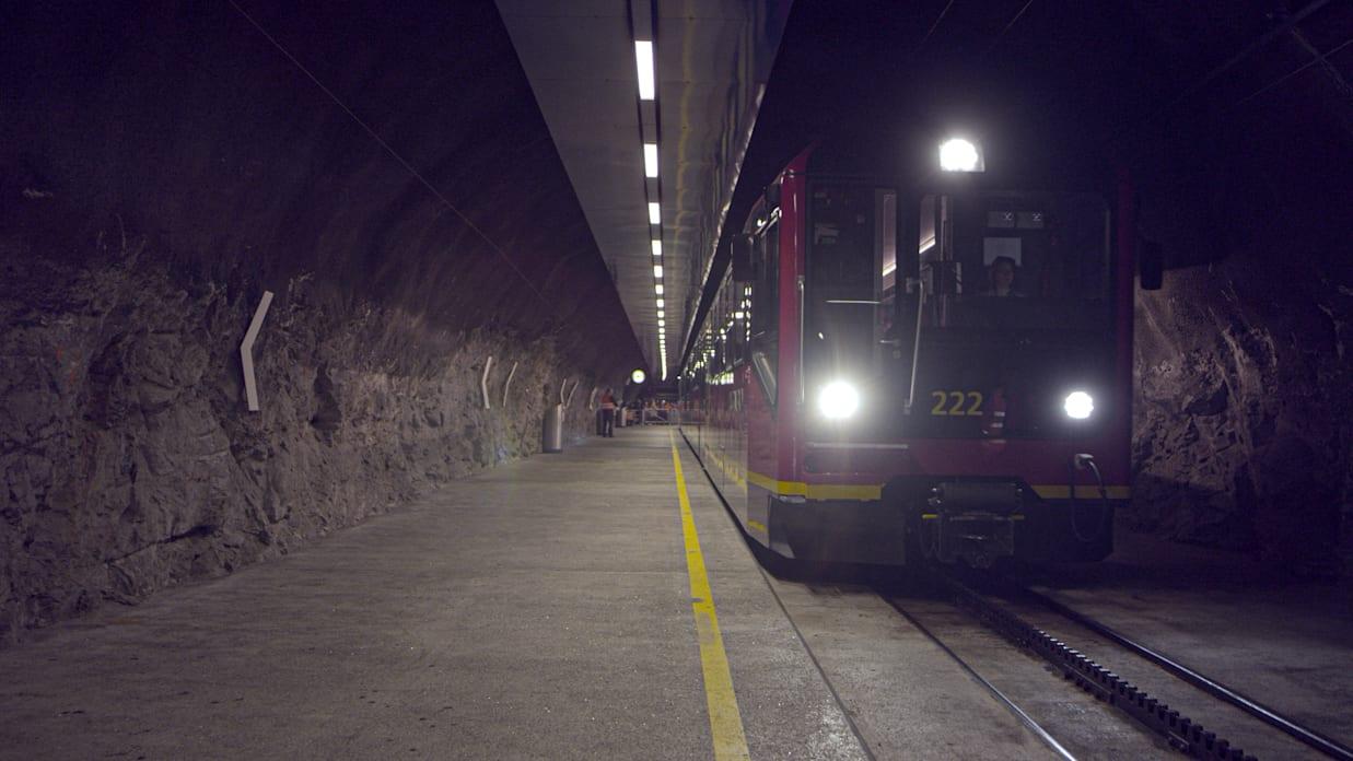Bahnhof Jungfraujoch Top Of Europe