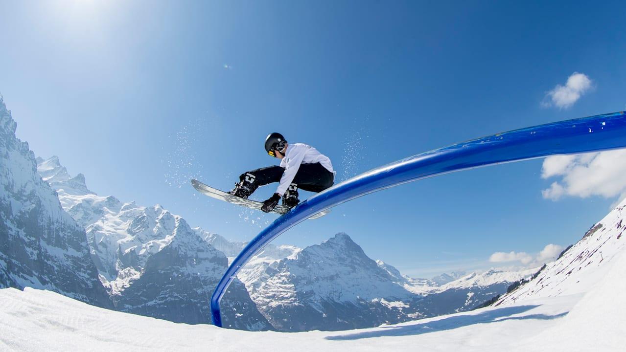 Moritz Thonen Snowpark Grindelwald First 2