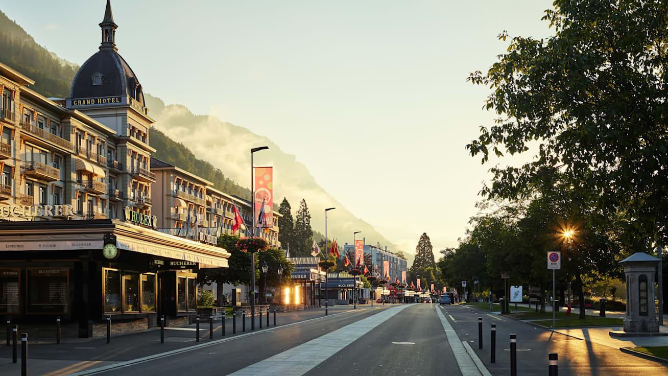 Interlaken Hotel Victoria Jungfrau Shopping Hoeheweg