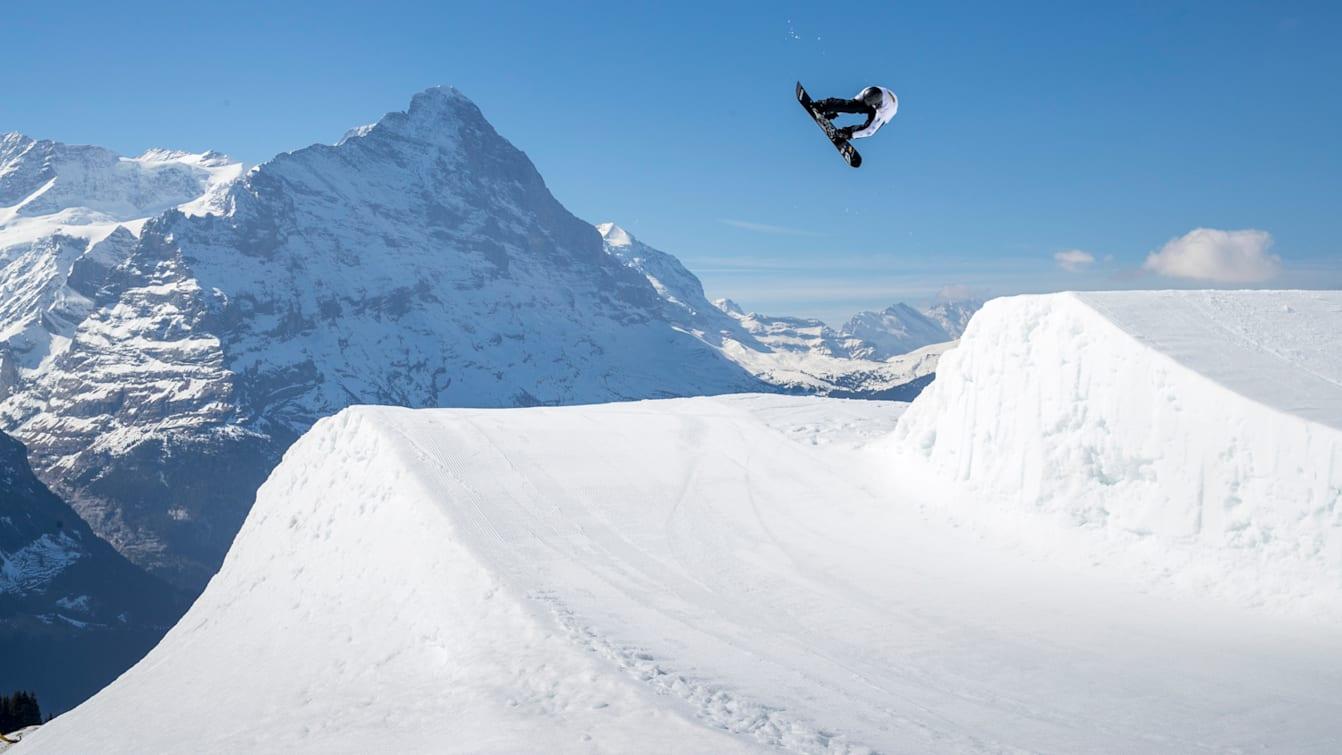 Moritz Thonen Snowpark Grindelwald First