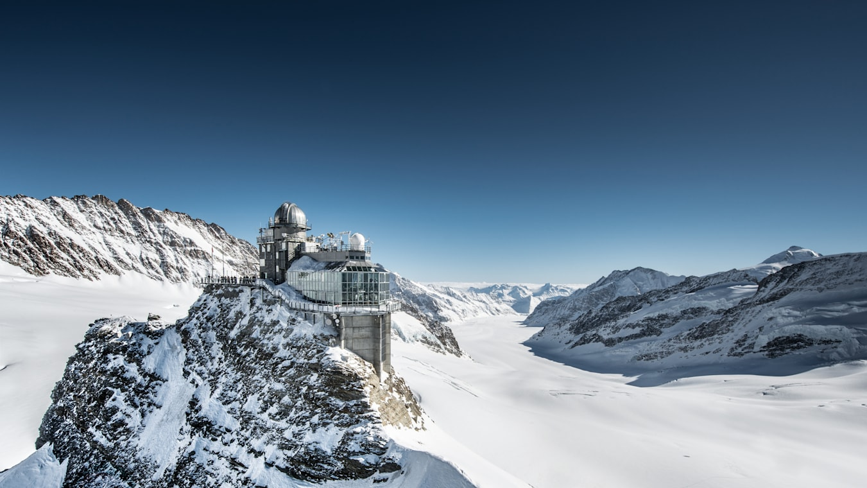 Jungfraujoch Sphinx Gletscher