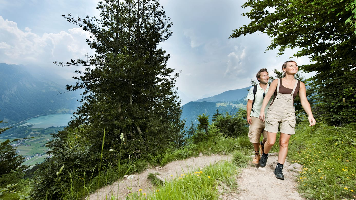 Wandern Harder Kulm Interlaken Wanderticket