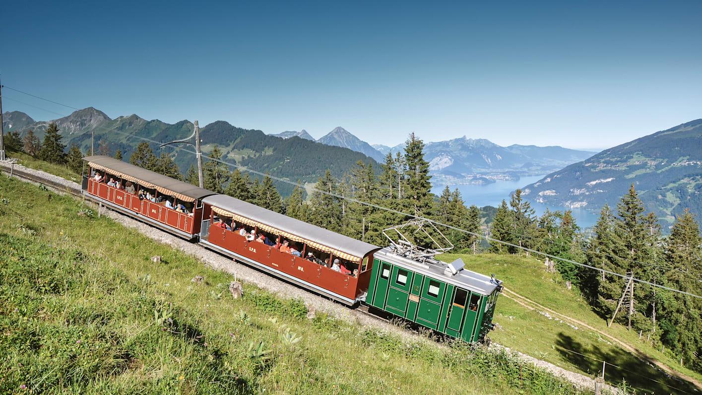 Bahnen-Maschinen, Jahreszeit, Schynige-Platte, Schynige-Platte-Bahn, Sommer, Verhältnisse, jungfrau.ch