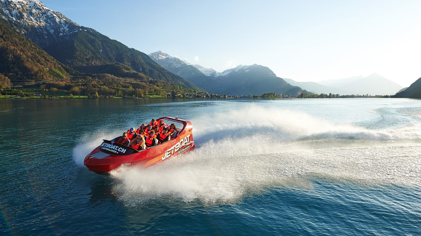JETBOAT Shooting Brienzersee