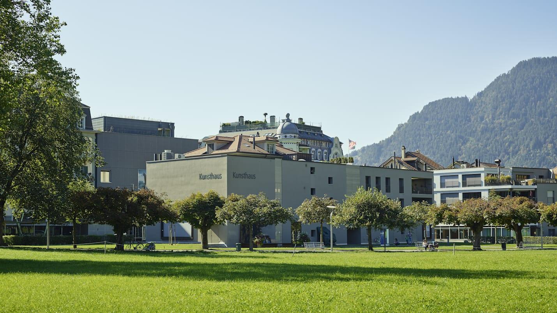 Interlaken Kunsthaus Hoehematte Sommer