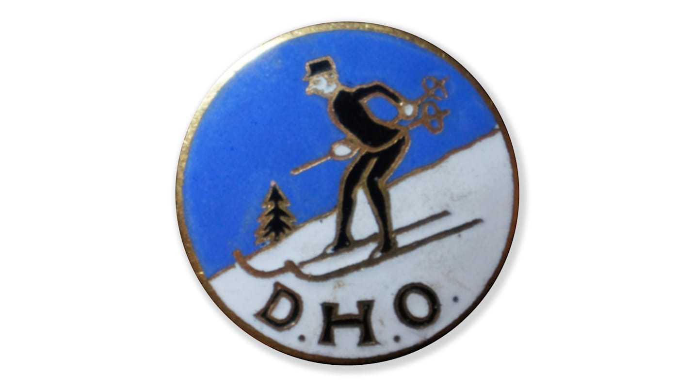 132 DHO early colour badge 2