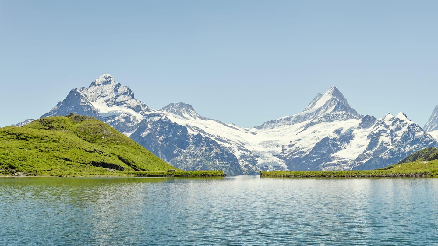 Wandern Bachalpsee Wetterhorn Schreckhorn