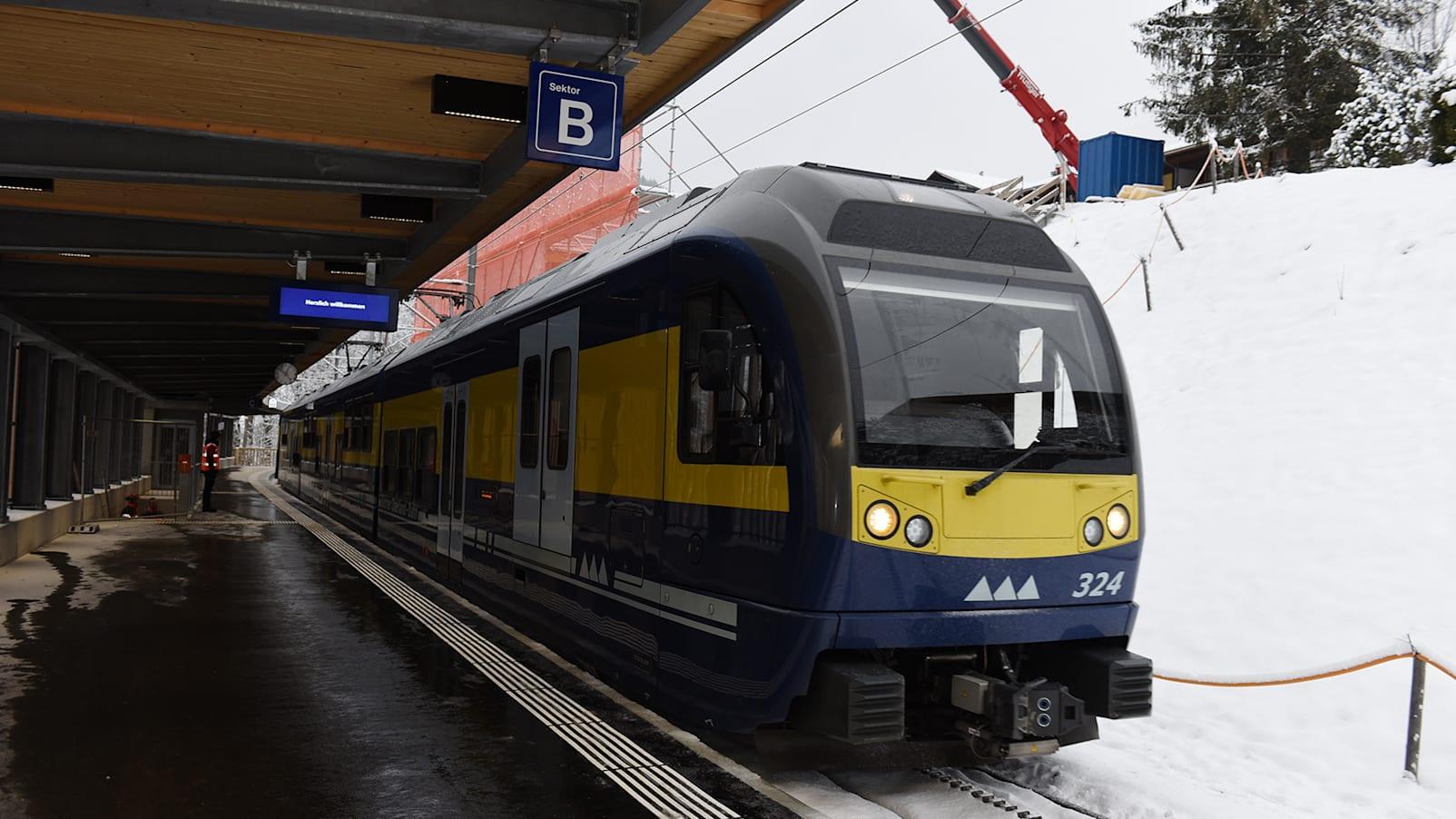V Bahn BOB Station Grindelwald Terminal