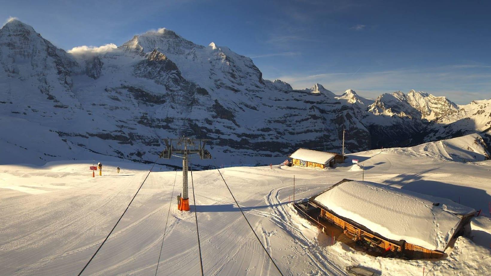 Jungfrau ski region kleine scheidegg wixi lauberhorn