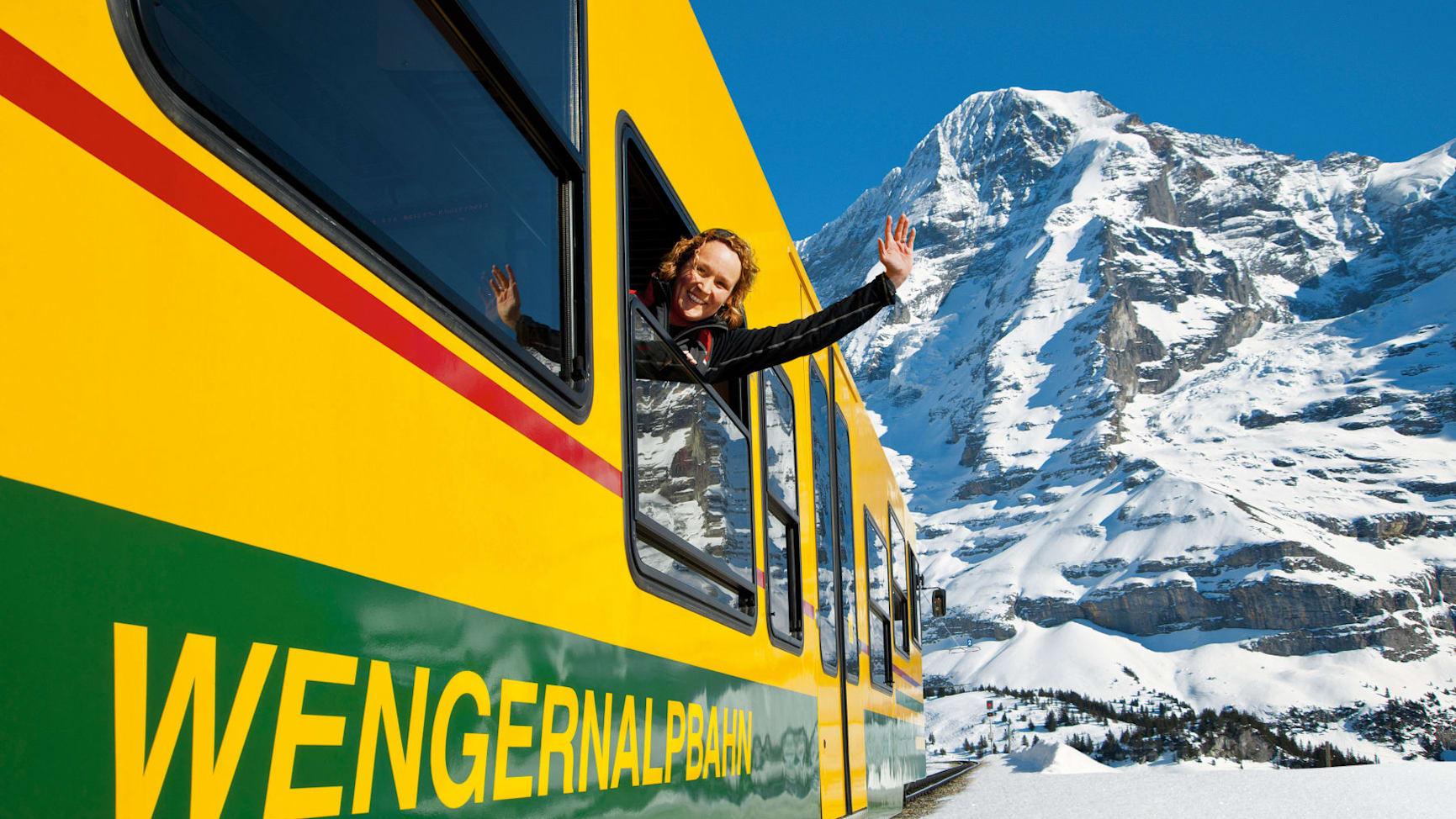 Wengernalpbahn winter 01