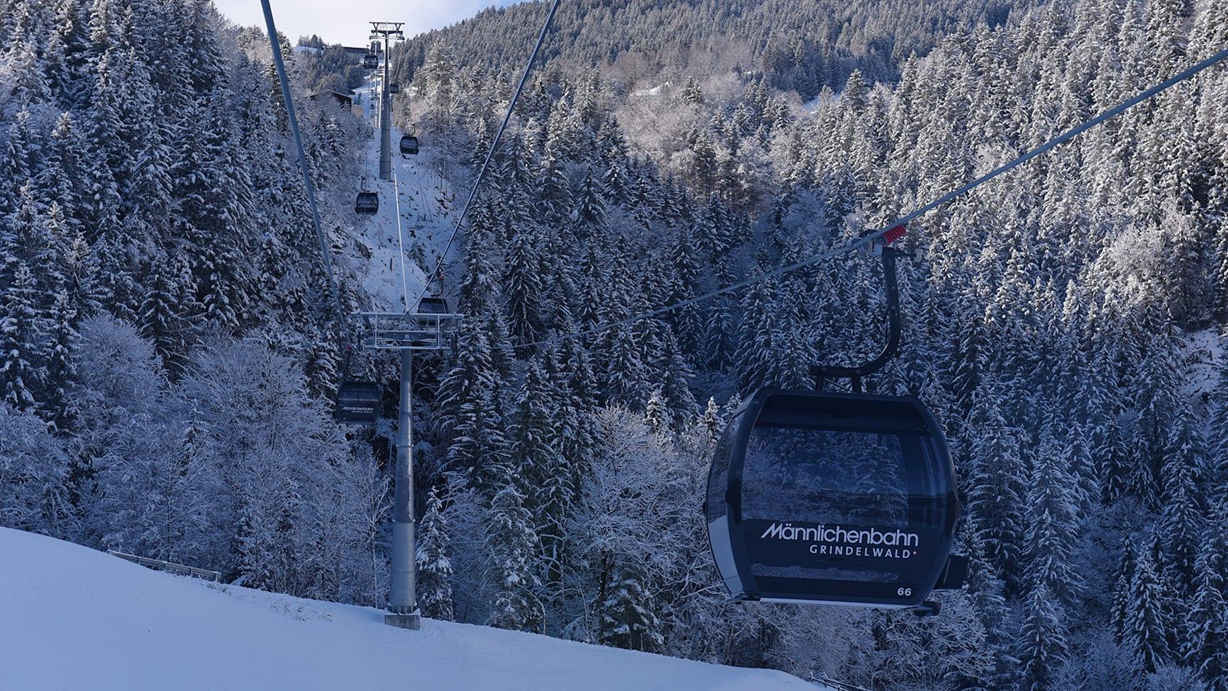 V Bahn GGM Gondelbahn Grindelwald Maennlichen