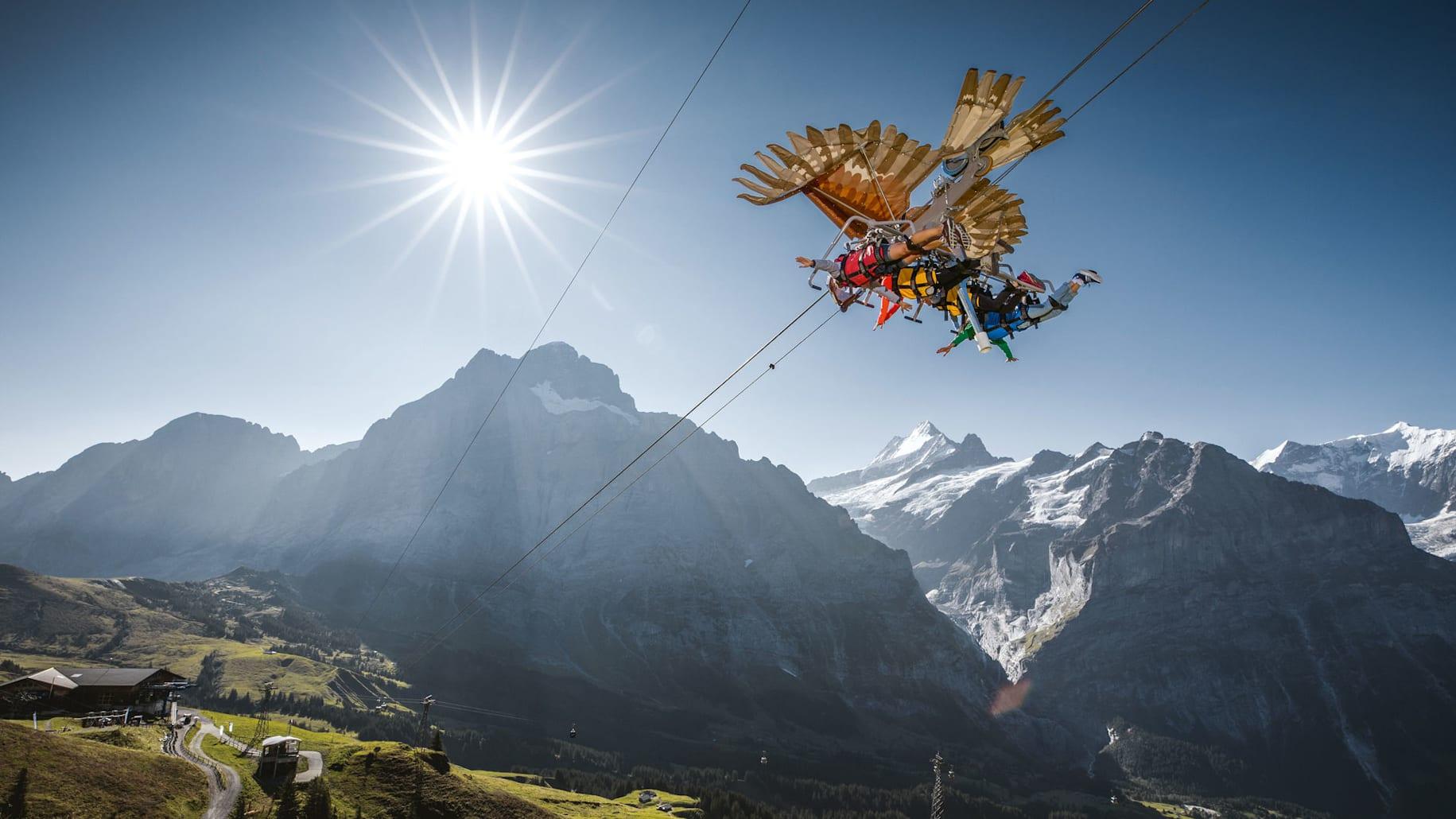 Grindelwald first sommer firstglider 01