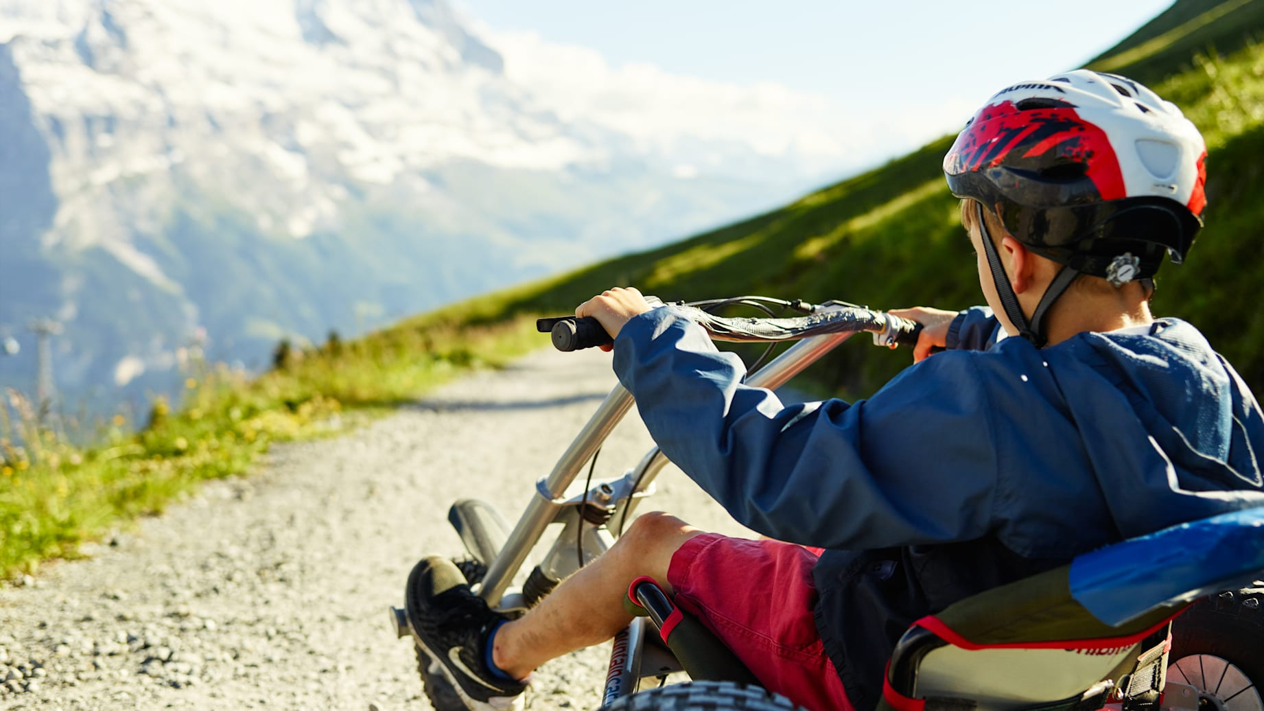 First Mountaincart Adventure Kind Sommer