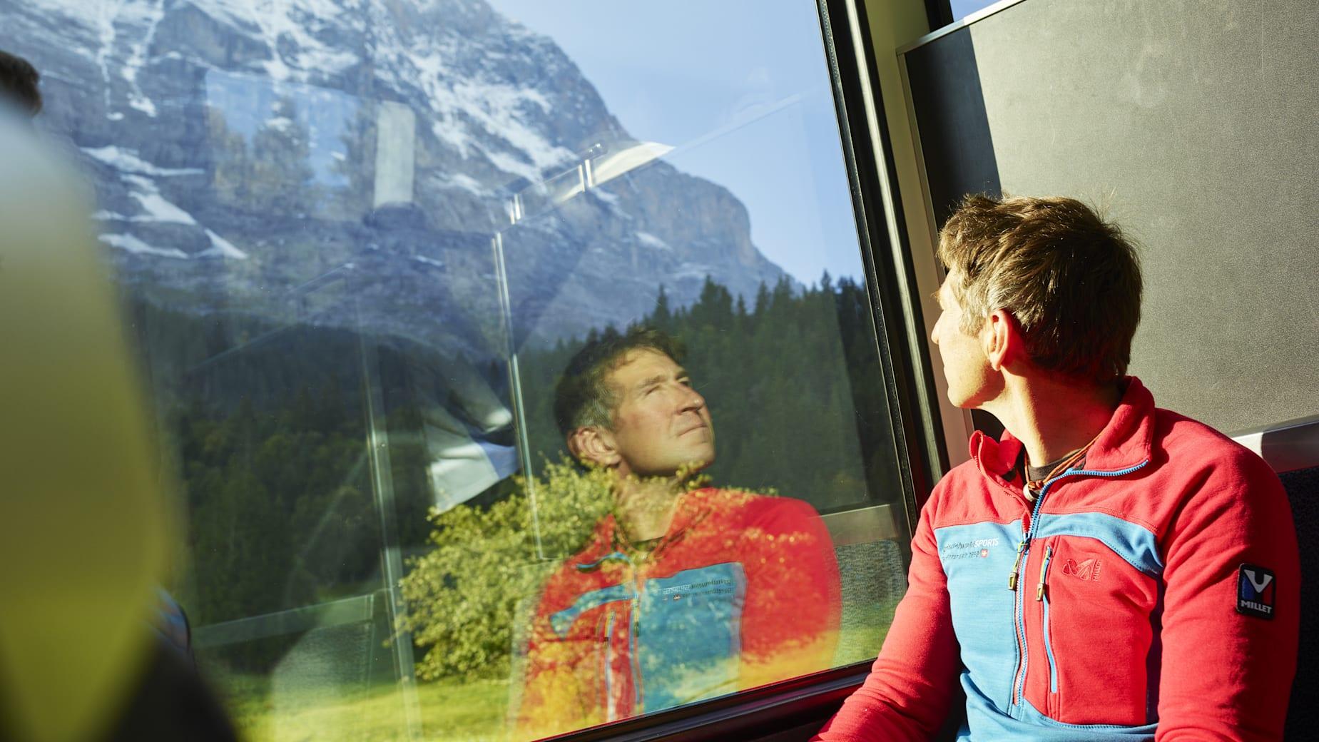 Jungfraubahn Bergfuehrer Eigernordwand