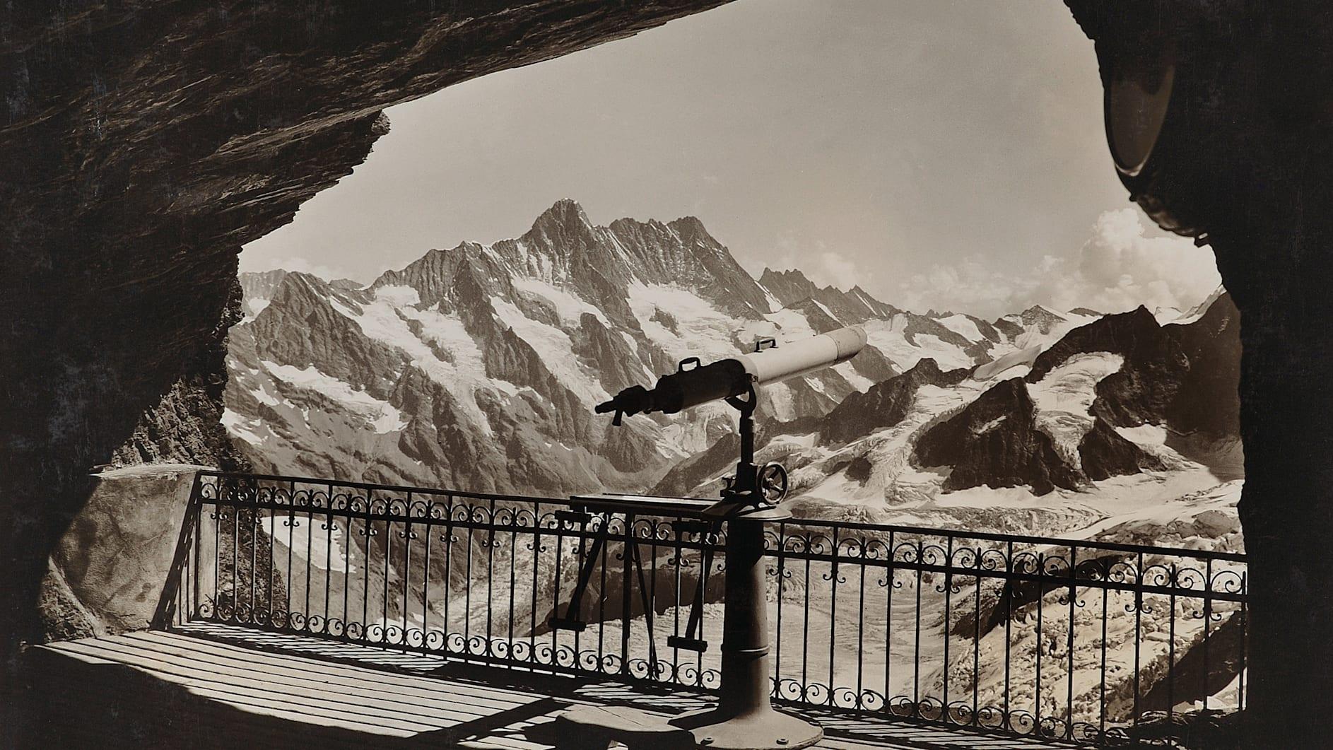 Jungfrau bahn nostalgie eismeer felsengalerie ab1905