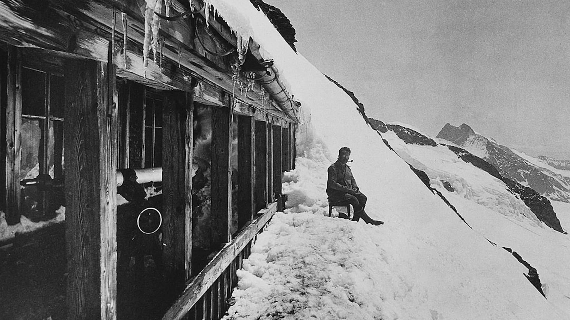 Bau der Jungfraubahn23