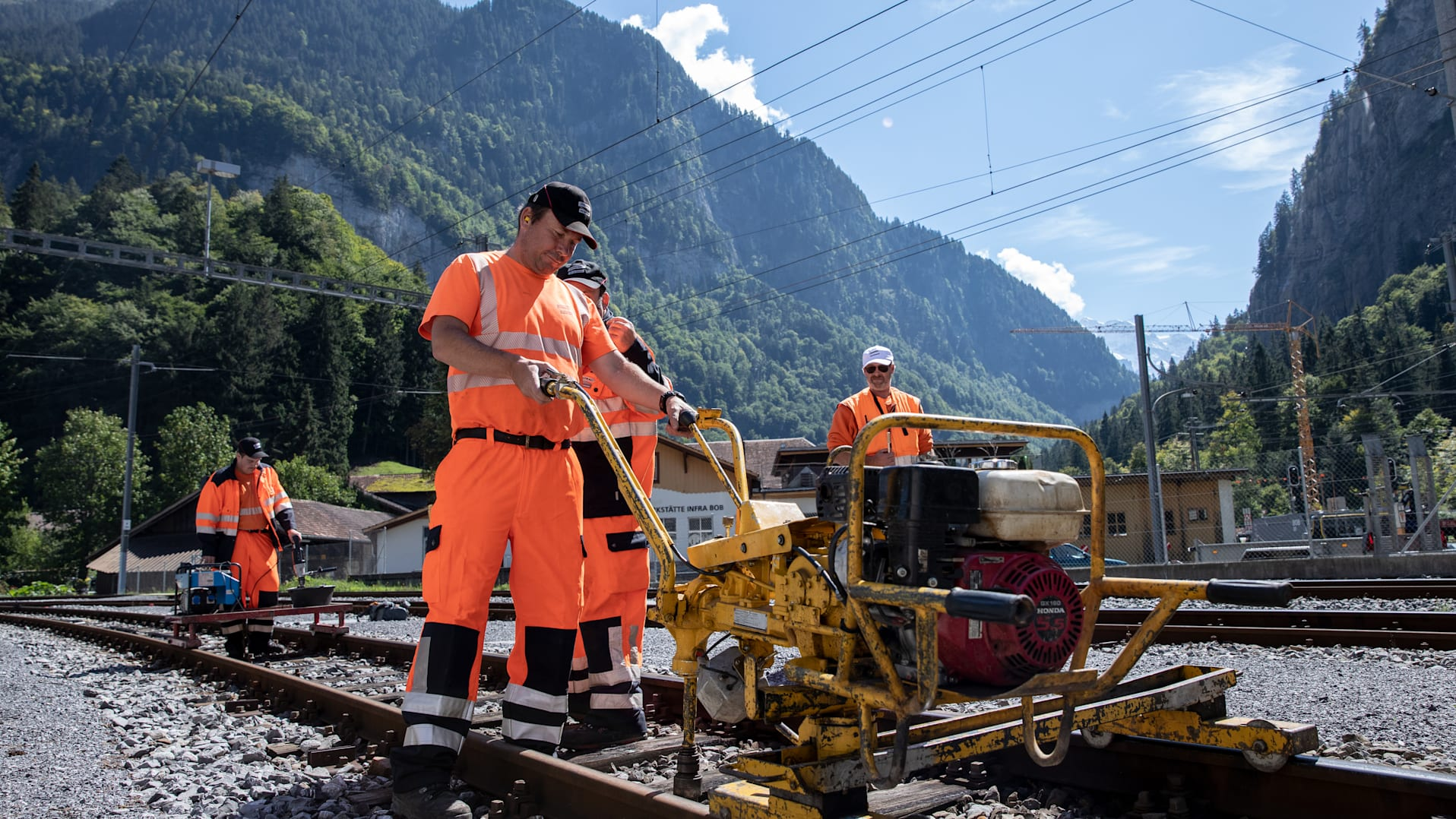 Gleisbauer Jungfraubahnen Streit Martin 3