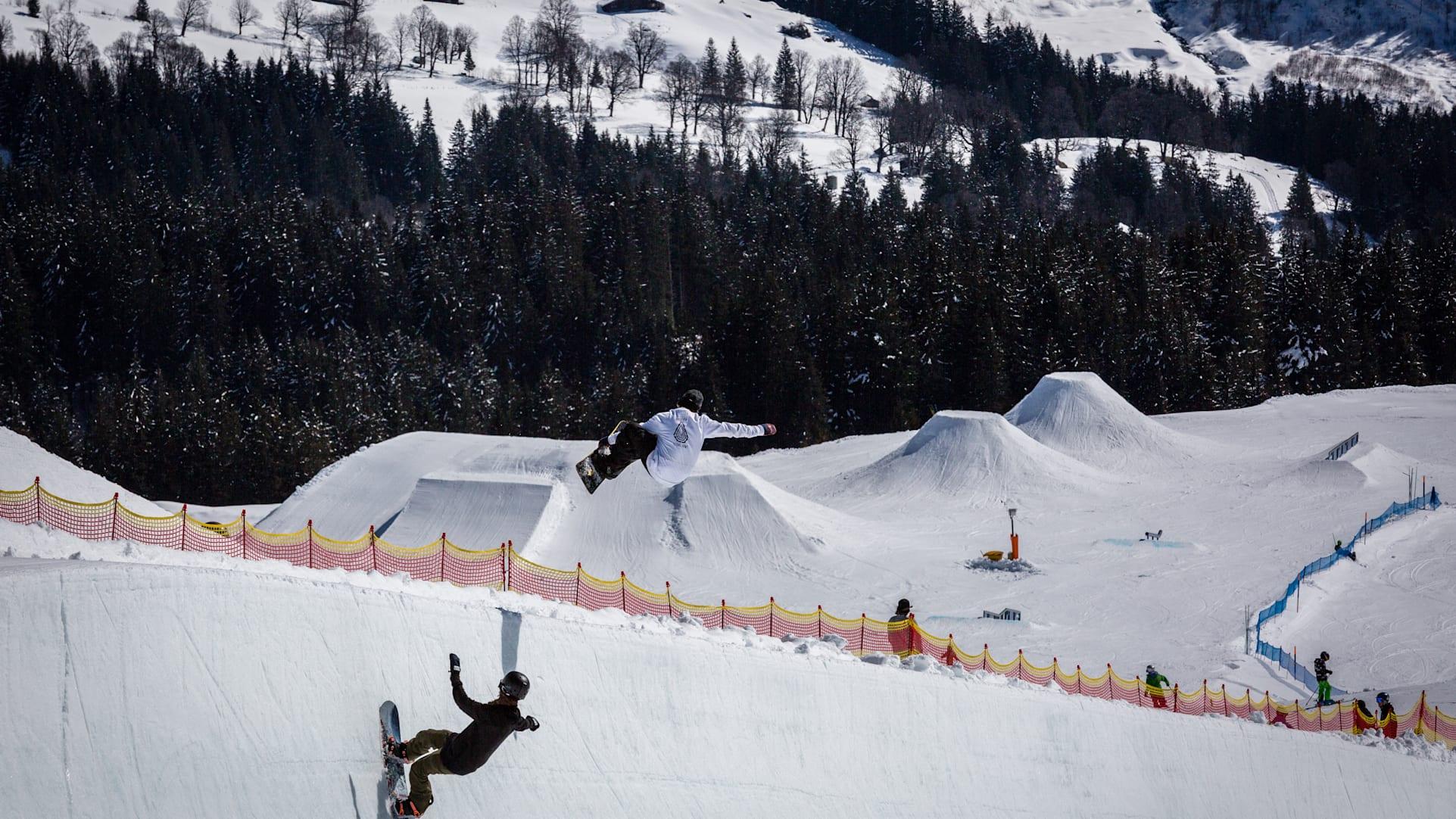 Snowpark Grindelwald First Park Pipe
